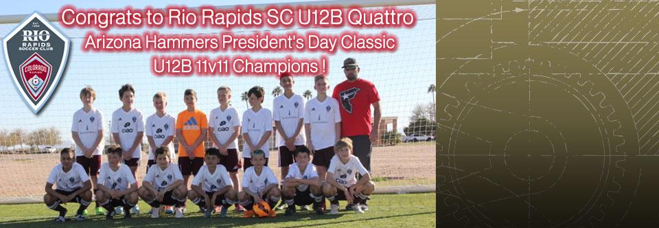 Quattro U12B 11v11 Champions