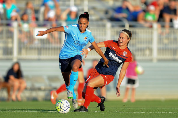 Taylor Lytle Plays for Sky Blue FC