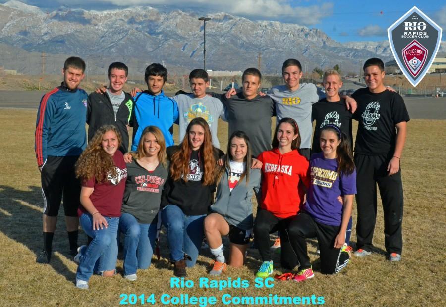 2014 rio rapids college commitments photo_logos
