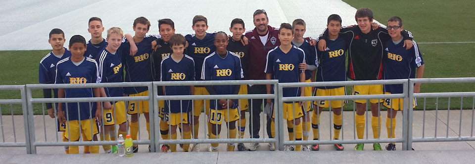 Rio Rapids SC 00 Boys Travel North