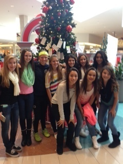 U14g copa team at giving tree