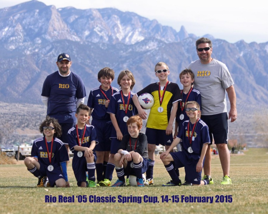 Rio rapids real -05 2015 classic fc spring cup silver u10b runner up.