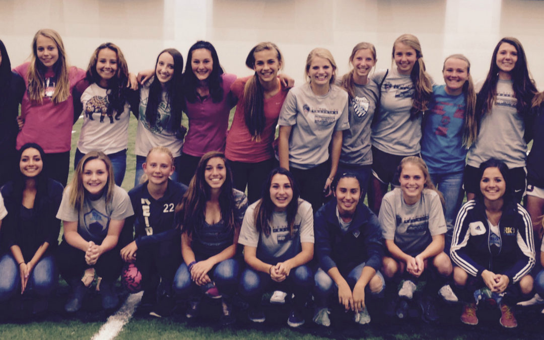 UNM Women's Soccer Day in the Life Program Big Success