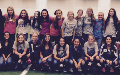Unm women's soccer day in the life program big success