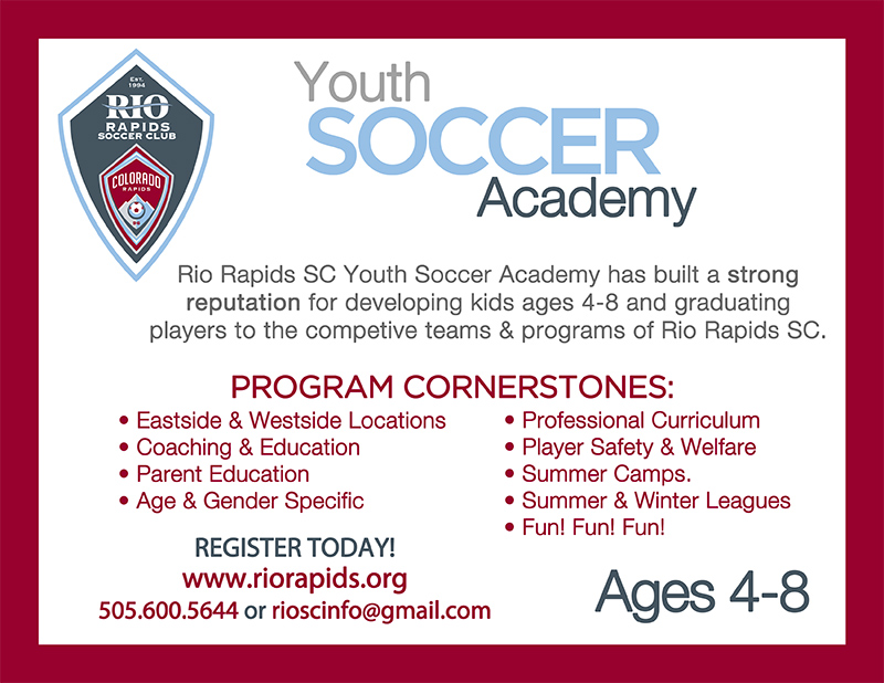 Rrsc youth academy sign up flyer 112415