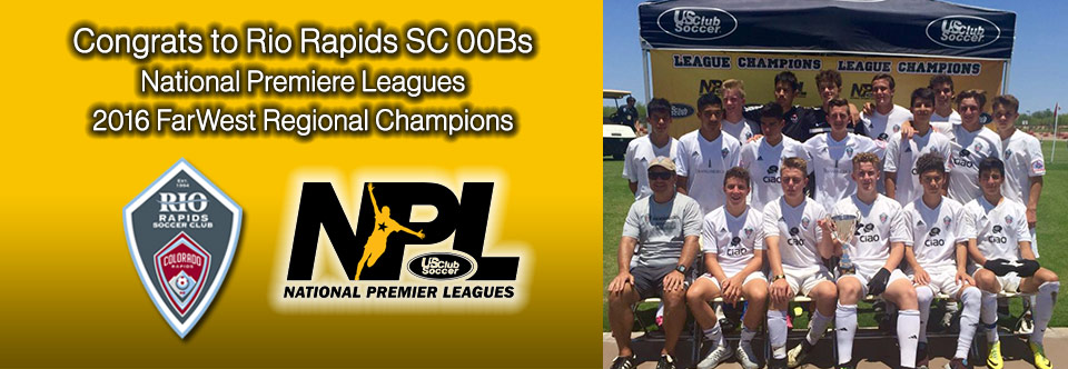 Rio Rapids NPL 00Bs Win NPL Regionals