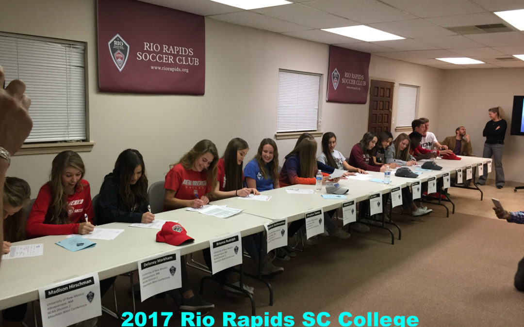 2017 College Commitments Recognized on Signing Day