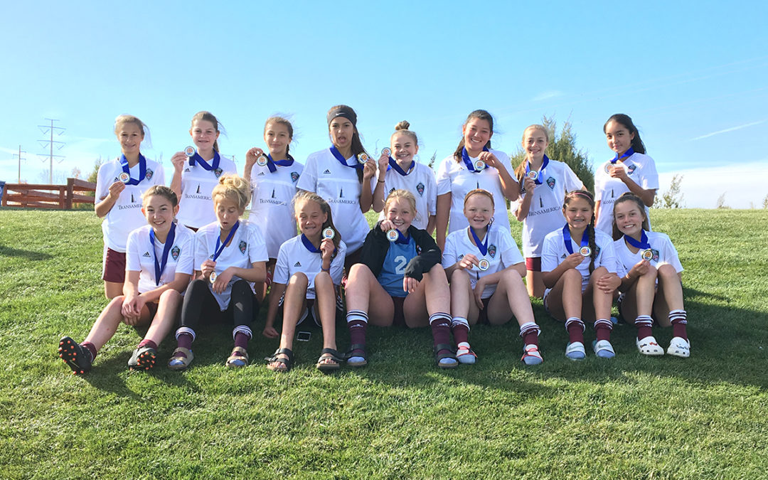 U14 Gold Champions at Gaylord Sheppard
