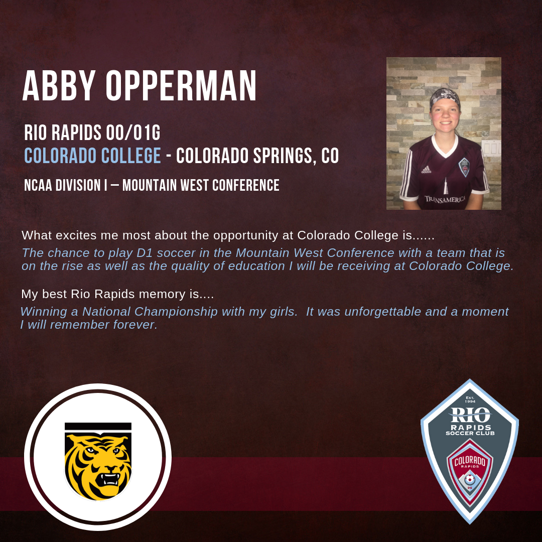 Rrsc instagram abby opperman college commitment