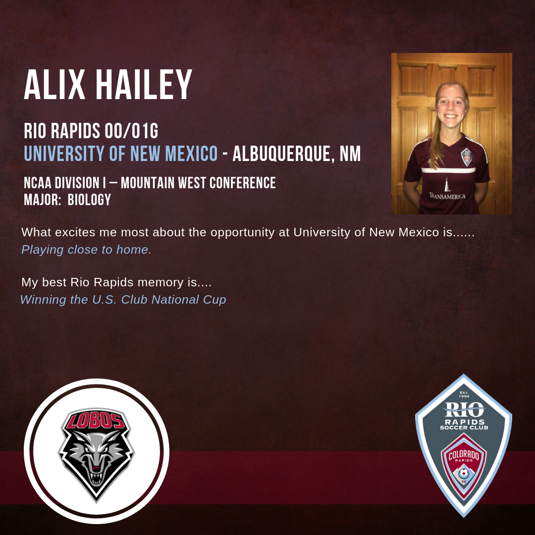 Rrsc instagram alix hailey college commitment