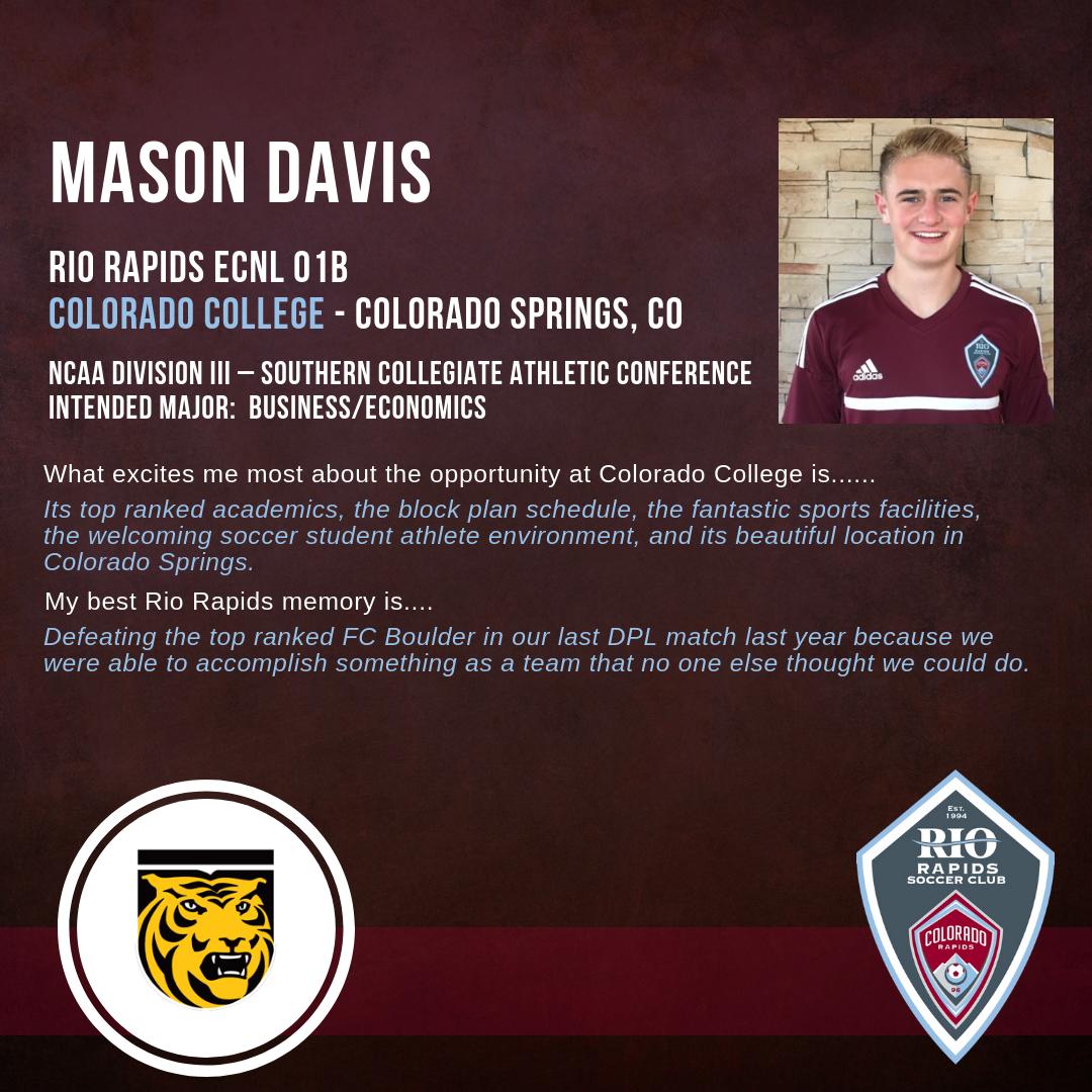 Rrsc instagram mason davis college commitment