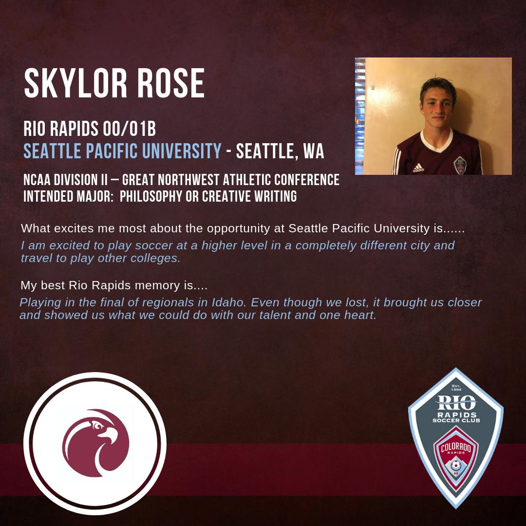 Rrsc instagram skylor rose college commitment