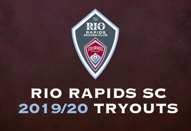 2019/2020 Rio Rapids SC Tryouts