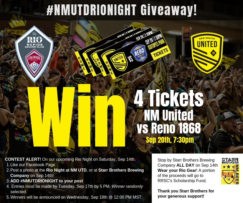Rrsc nm united night giveaway