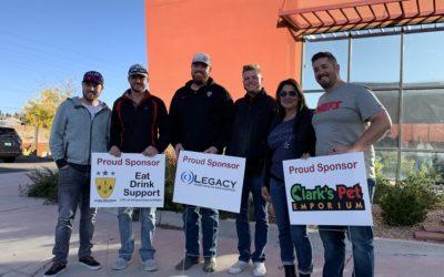 Thank you cornhole sponsors!