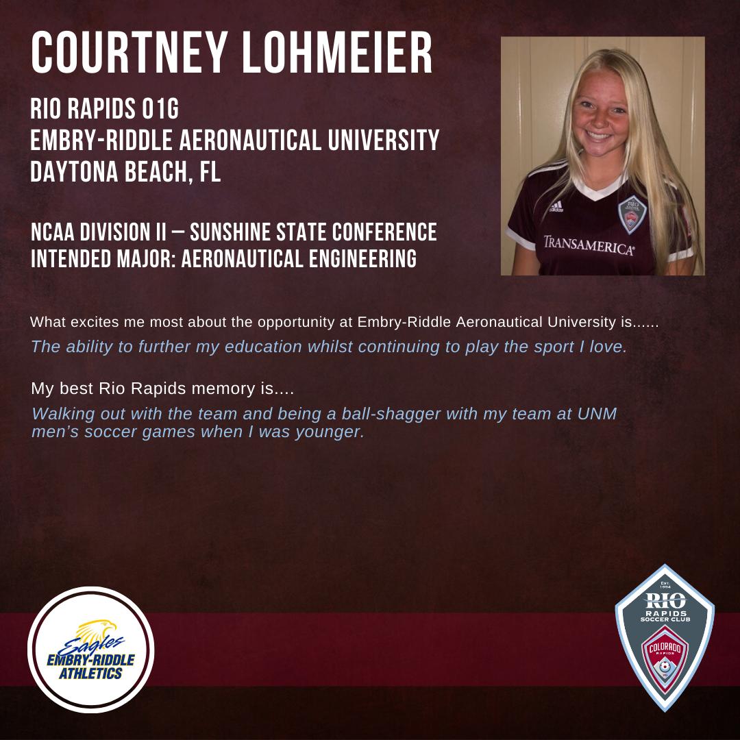 Rrsc ig courtney lohmeier 2019 college commitment