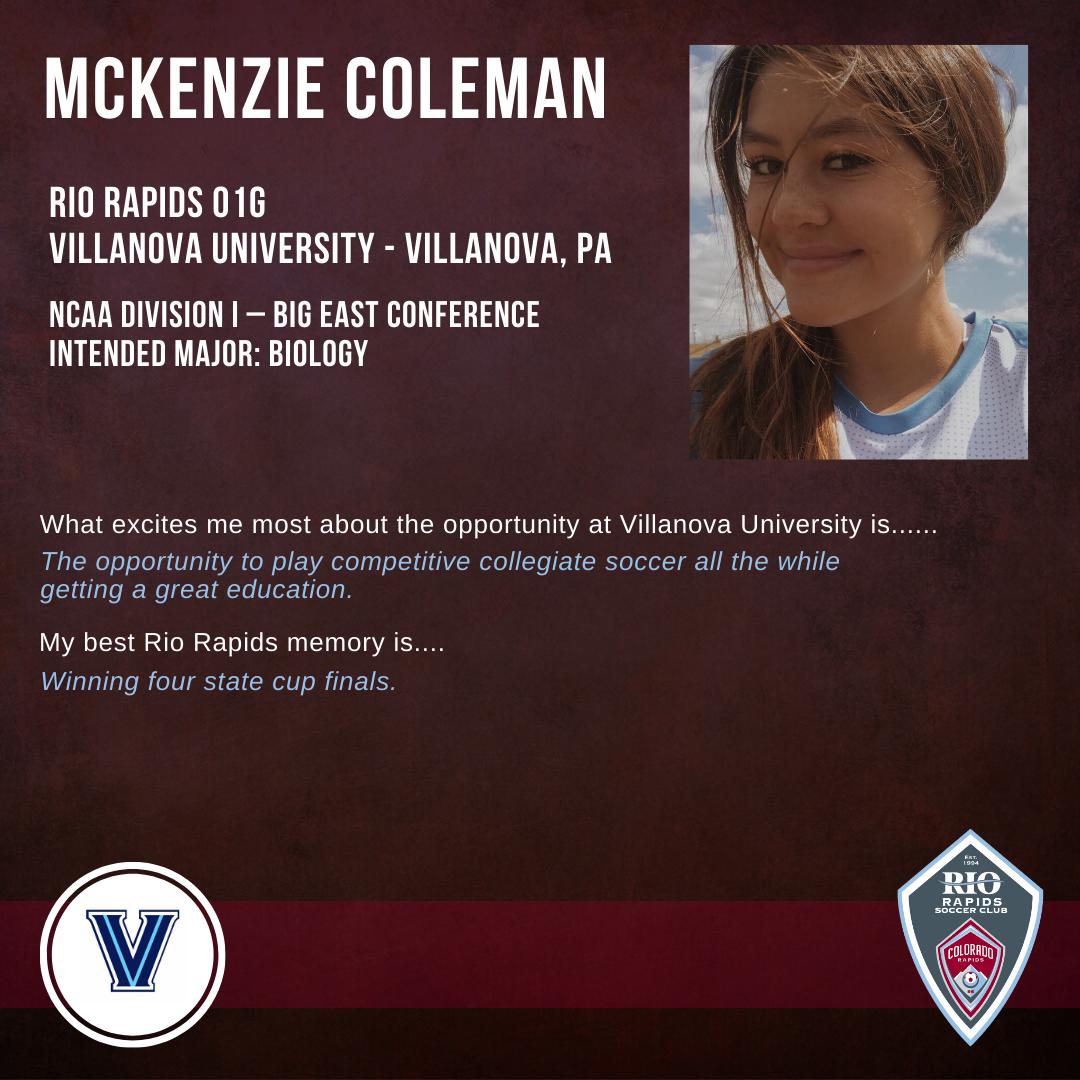 Rrsc ig mckenzie coleman 2019 college commitment