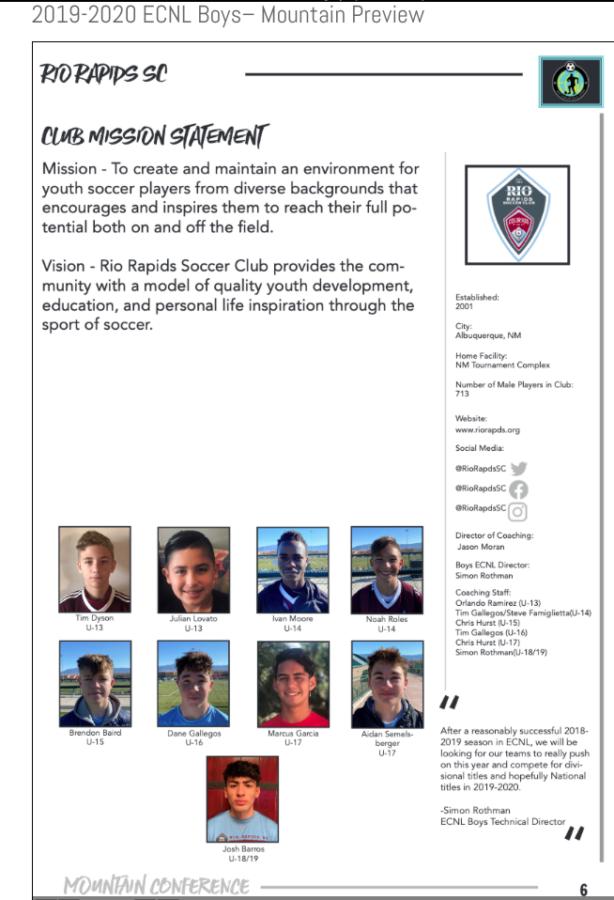 Rio ECNL 2020