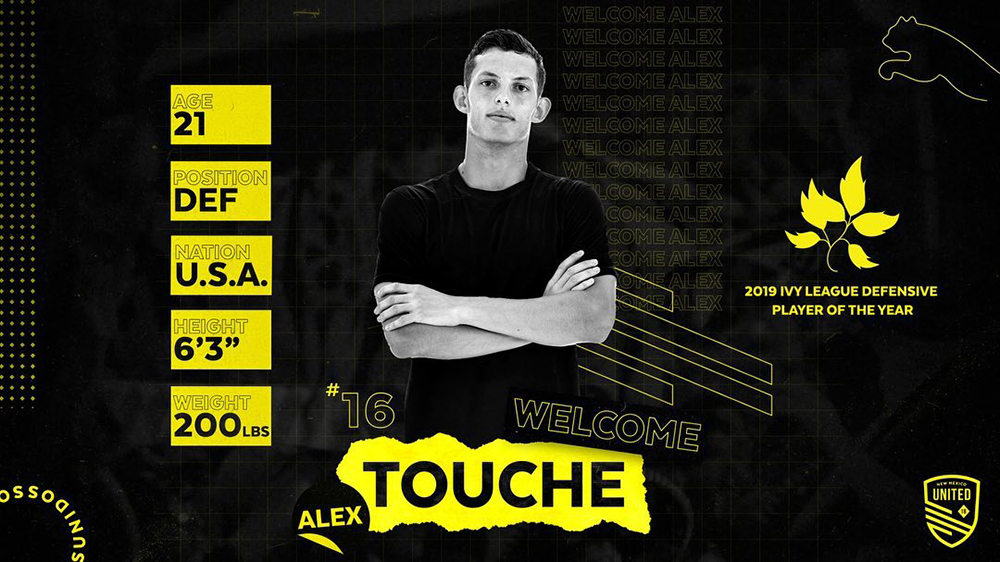 Rrsc nmutd alex touche signing