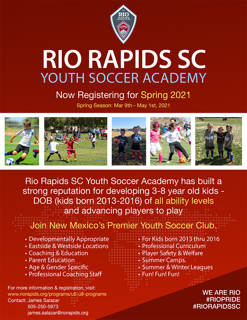 Rrsc youth acdemy flyer email 013121