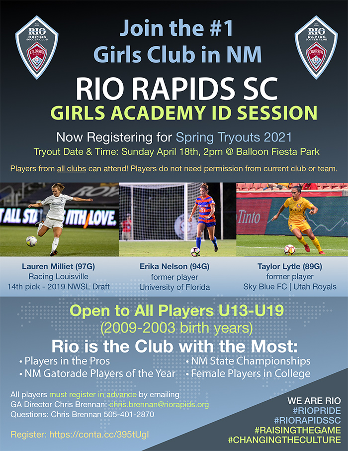 Rrsc girls academy id session flyer 032221