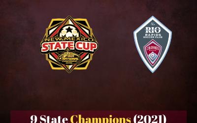 Rio rapids wins 9 state championships!
