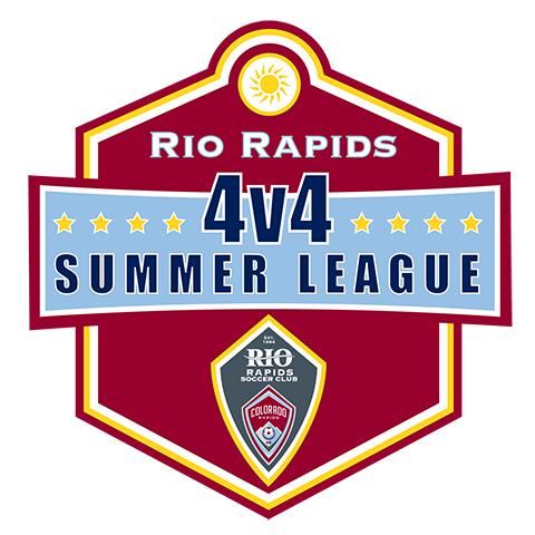 Rio rapids sc 4v4 summer league 2021 logo