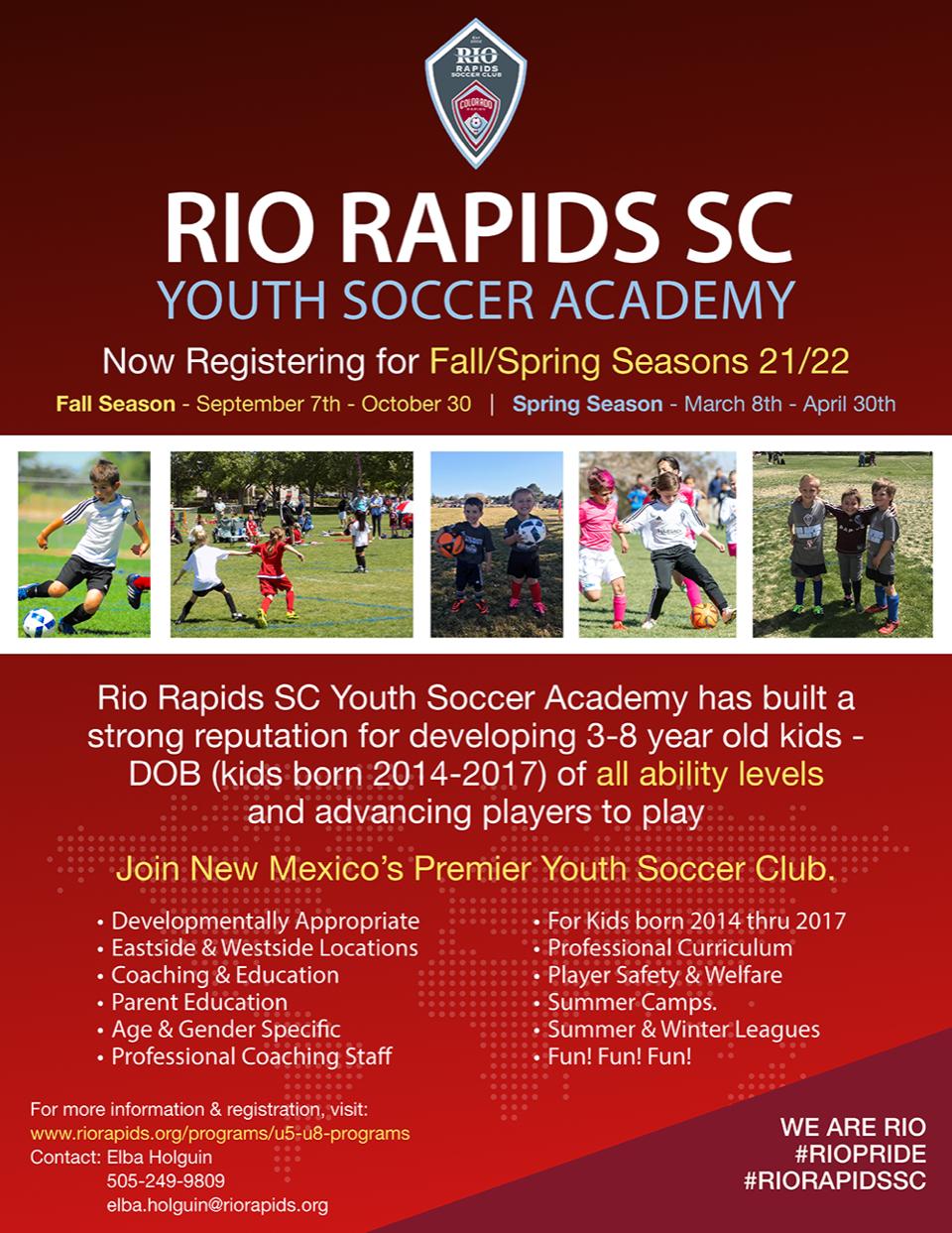 Rrsc youth academy flyer 080521